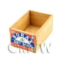 Dolls House Borax Wooden Shop Stock Box