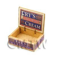 Dolls House Frys Chocolate Shop Counter Display Box