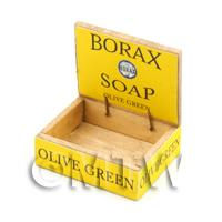 Dolls House Borax Soap Counter Display Box