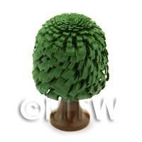 Dolls House Miniature 40mm Classic Shaped Green Tree