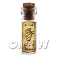 Dolls House Miniature Apothecary Woodlover Fungi Bottle And Label