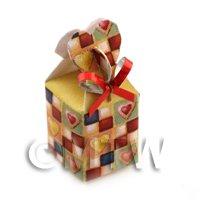Dolls house Miniature Christmas Box Style 7