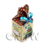 Dolls house Miniature Christmas Box Style 8