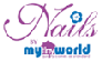 MyTinyWorld Nails Logo