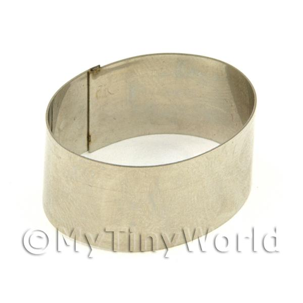 Metal Oval Shape Sugarcraft / Clay Cutter (28mm)
