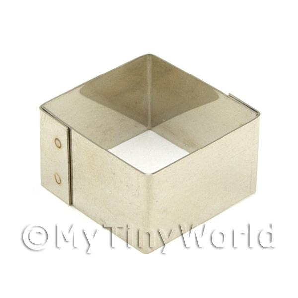 Metal Square Shape Sugarcraft / Clay Cutter (20mm)