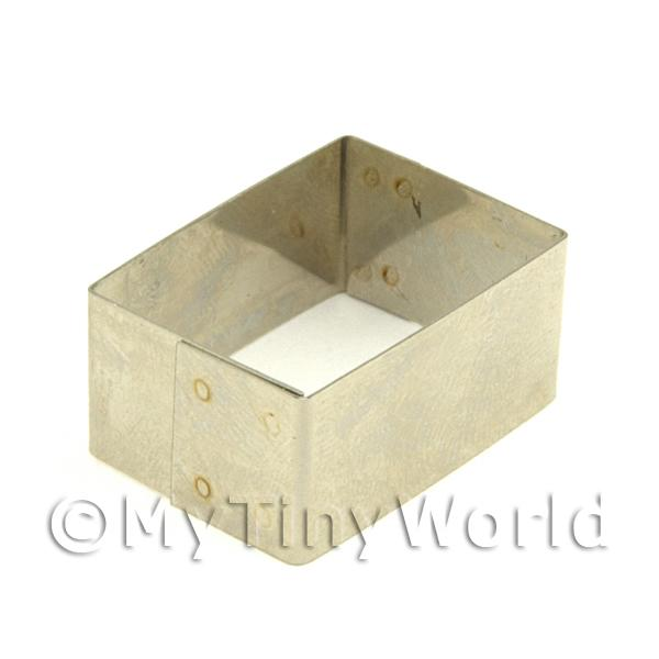 Metal Rectangular Shape Sugarcraft / Clay Cutter (25mm)