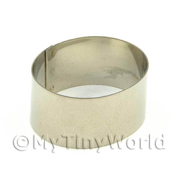 Metal Oval Shape Sugarcraft / Clay Cutter (25mm)