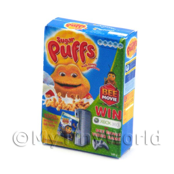 Dolls House Miniature Sugar Puffs Cereal