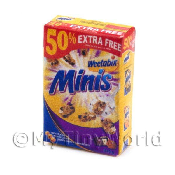 Dollhouse Miniature size modern Chocolate Chip Cookie Box