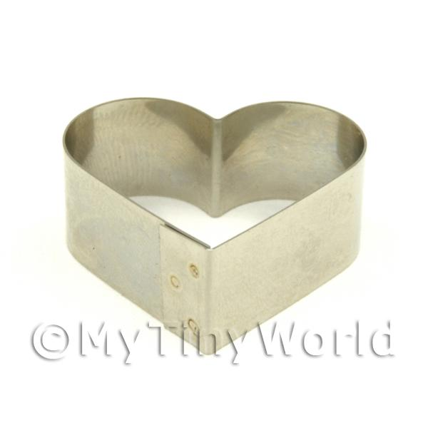 Metal Heart Shape Sugarcraft / Clay Cutter (30mm)