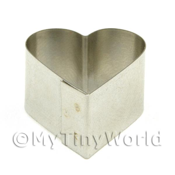Metal Heart Shape Sugarcraft / Clay Cutter (20mm)