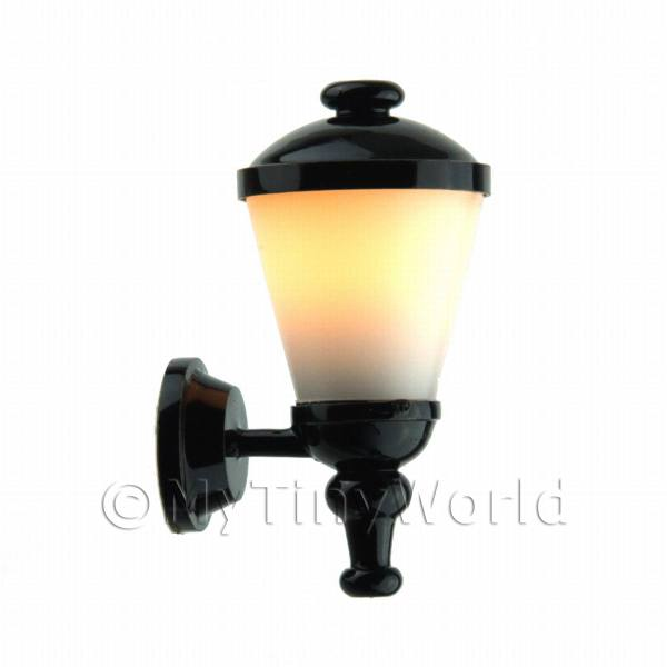 Dolls House Miniature Modern outside lamp