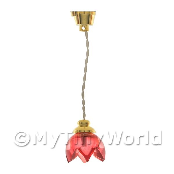 Dolls House Miniature Hanging ceiling light