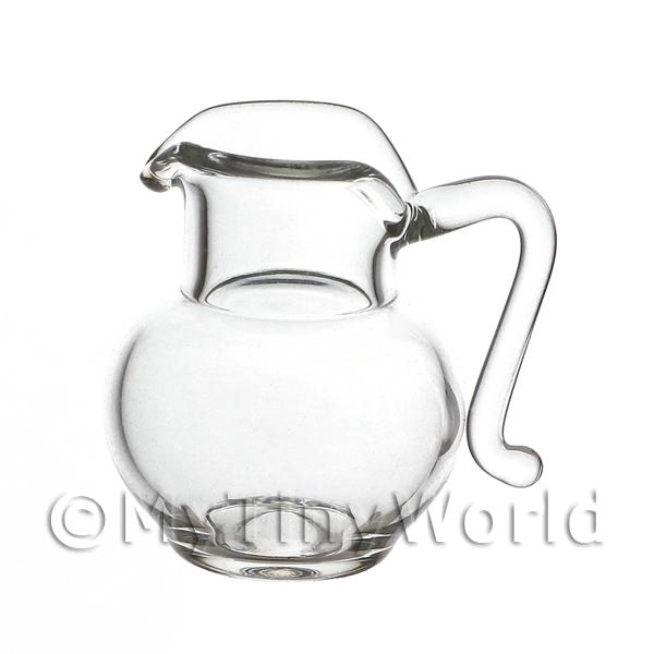 Dolls House Miniature Handmade Glass Jug