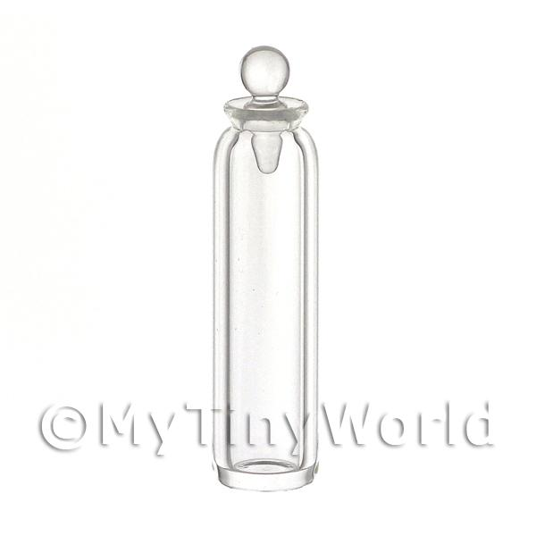 Dolls House Miniature Tall Hand Blown Clear Apothecary / Storage Jar