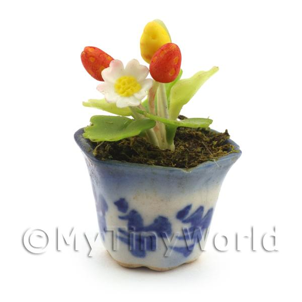 Dolls House Miniature Wild Strawberry Plant