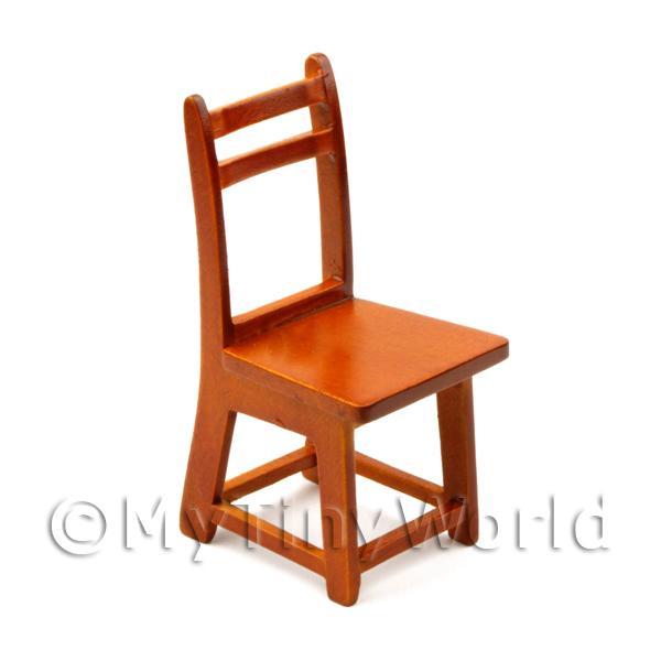 Chunky Wood Dinner Chair Dolls House Furniture Fr17 Ebay