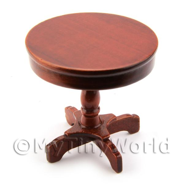 Dolls House Miniature Round Side Table