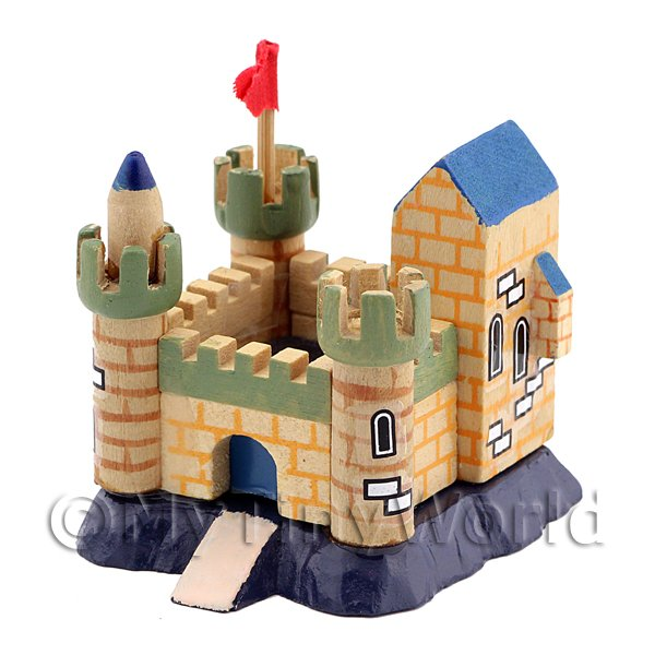 Dolls House Miniature One Piece Childrens Toy Castle