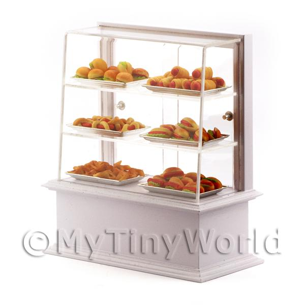 1/12 Scale Dolls House Miniatures  | Dolls House Miniature Snack Display Counter