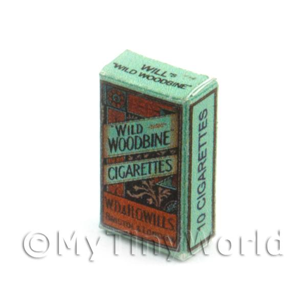 Dolls House Miniature  | Dolls House Miniature Wild Woodbine Cigarette Packet