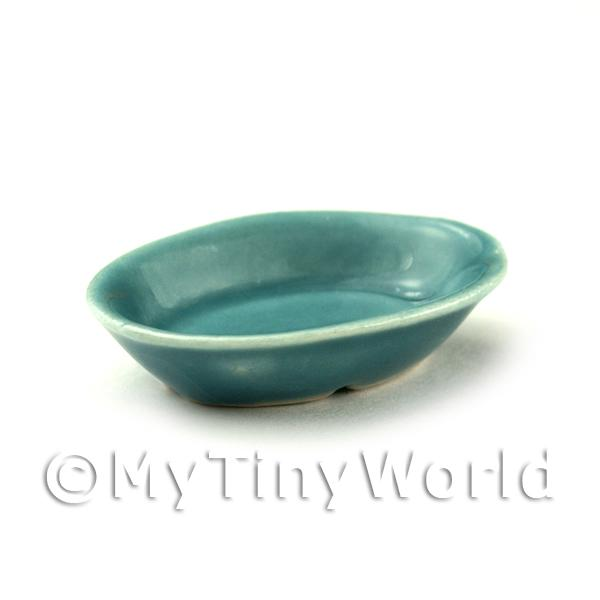 Miniature 39mm Aquamarine Ceramic Serving Dish