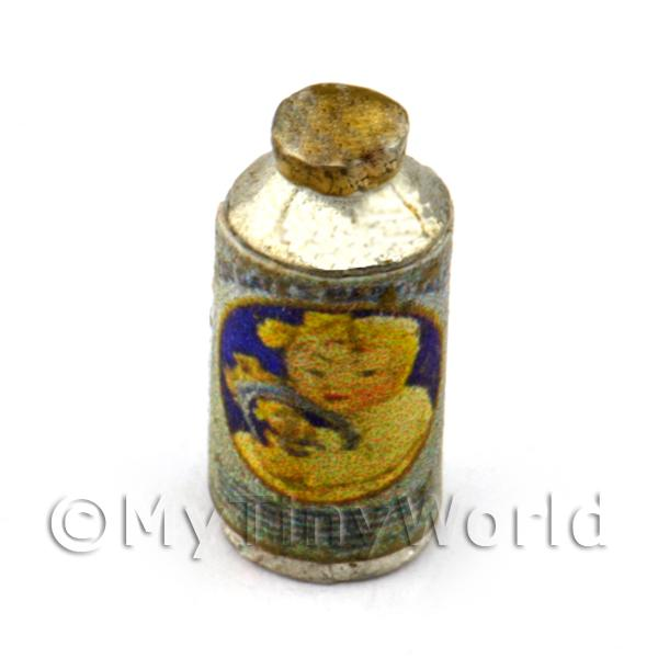 Dolls House Miniature Bottle of Baby Powder