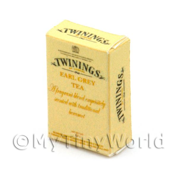 Dolls House Miniature  | Dolls House Miniature Twinings Earl Grey Tea Box