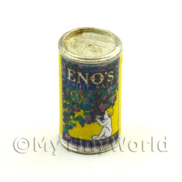 Dolls House Miniature Can Of Enos Fruit Salts