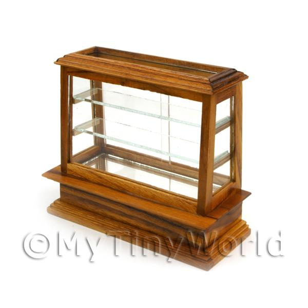 Dolls House Miniature Medium Wood Display Unit