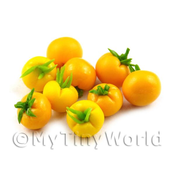 Dolls House Miniature Handmade Finely Detailed Yellow Tomato