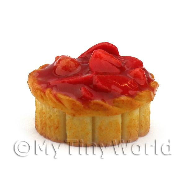 Dolls House Miniature Deep Filled Juicy Summer Fruit Pie
