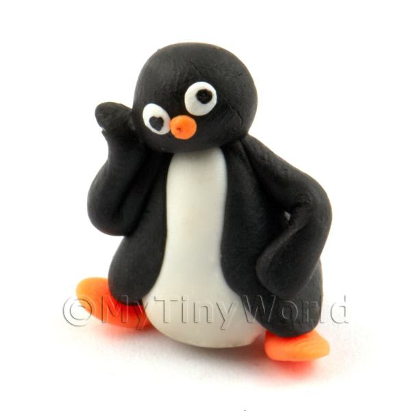 Dolls House Miniature Fun Penguin Figurine (7)