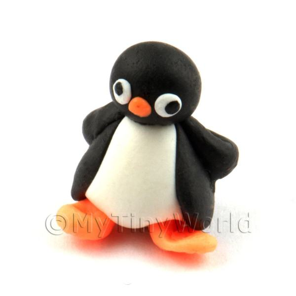 Dolls House Miniature Fun Penguin Figurine (11)