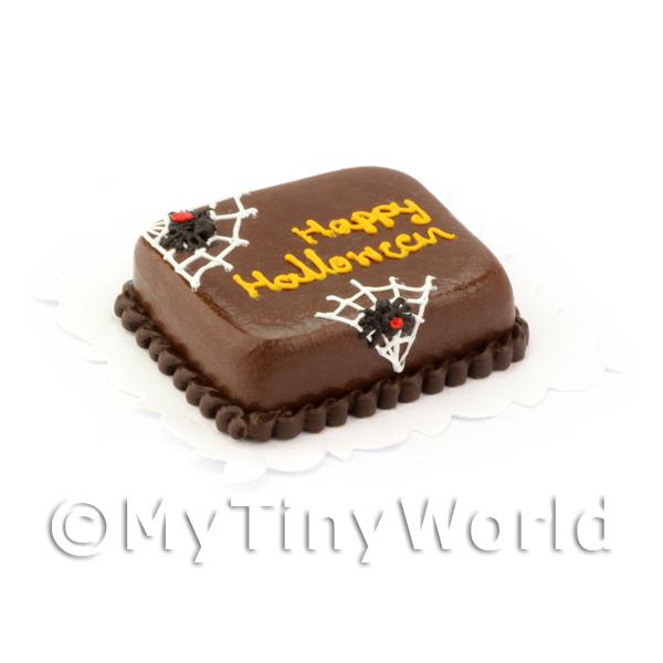Dolls House Miniature Dolls House Miniature Halloween Cake