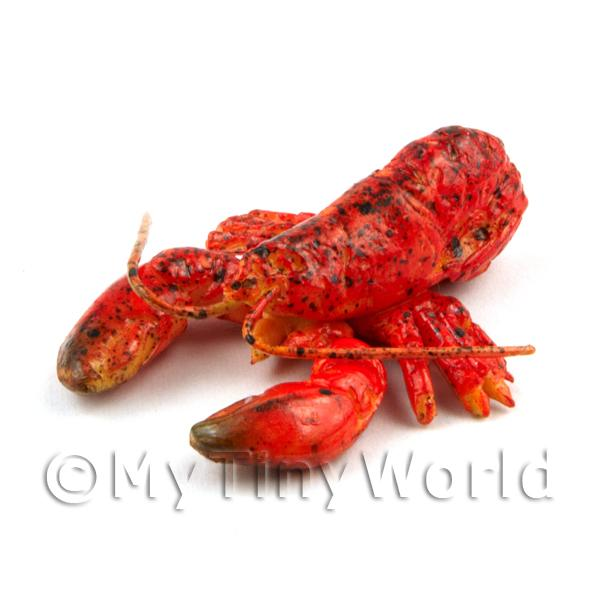 Dolls House Miniature Cooked Red  Lobster