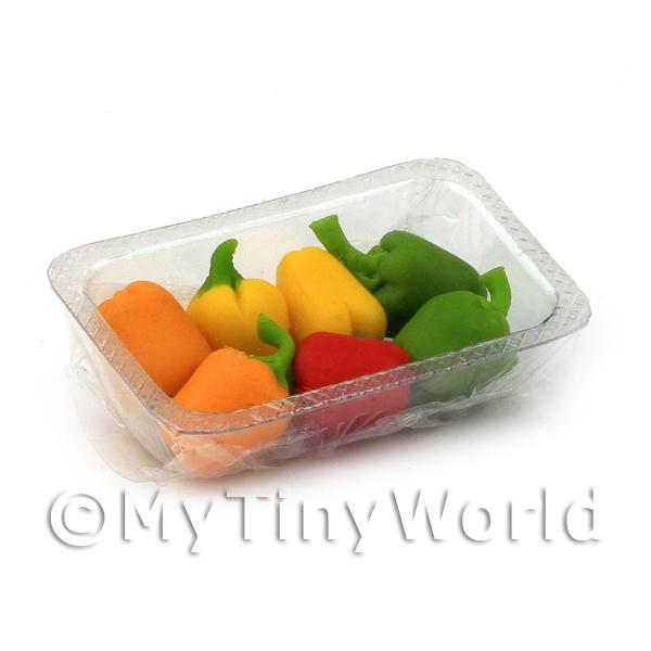 Miniature Punnet of Mixed Bell Peppers