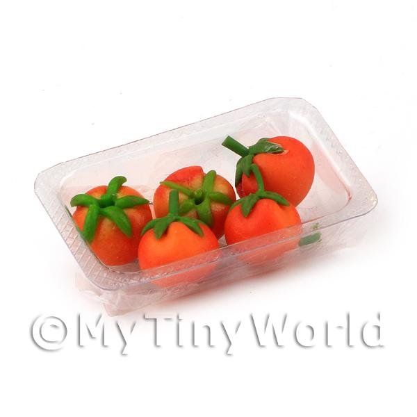 Dolls House Miniature Punnet of tomatoes