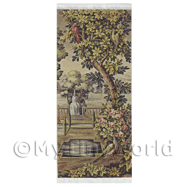 Dolls House Miniature  | Dolls House Miniature Large Woven Tapestry Country Scene (TAPMR01)