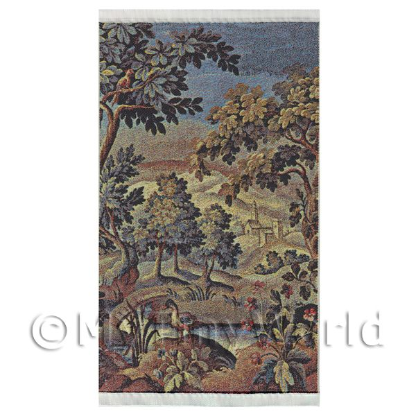 Dolls House Miniature  | Dolls House Miniature Large Woven Countryside Tapestry (TAPMR03)
