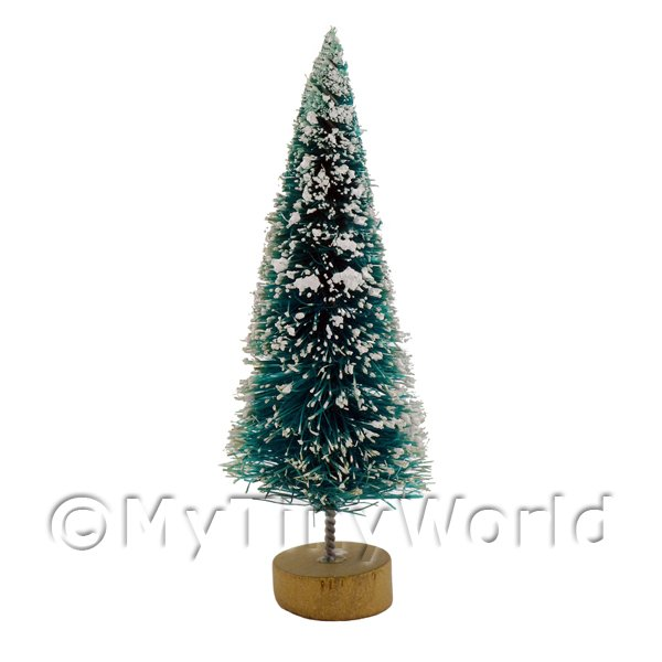 Dolls House Miniature  | Dolls house Miniature Small Christmas Tree with Snow