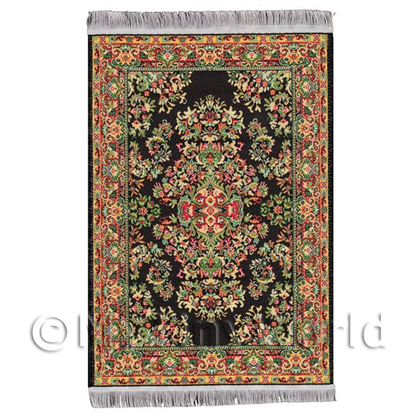 Dolls House Miniature - Dolls House Medium 16th Century Rectangular Carpet / Rug (16MR02)