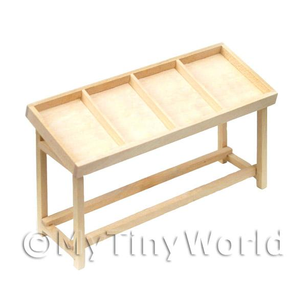 Dolls House Miniature Shop counter - 4 section - flat packed