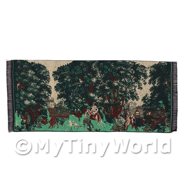 Dolls House Miniature  | Dolls House Miniature Woodland Scene Tapestry (18TAP01)
