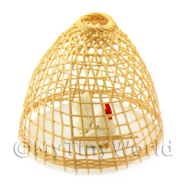 Dolls House Miniature Asian Style Chicken Coup