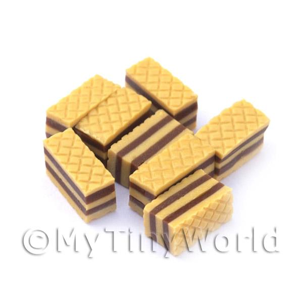 Dolls House Miniature  | Dolls House Miniature Bakery Sweet Toffee Wafer