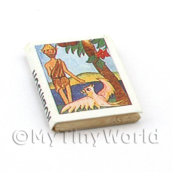 Dolls House Miniature Childrens Book The Swiss Family Robinson