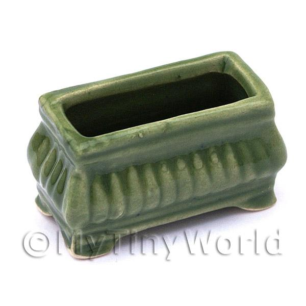Dolls House Miniature  | Dolls House Miniature Garden Green Flower Box/Planter