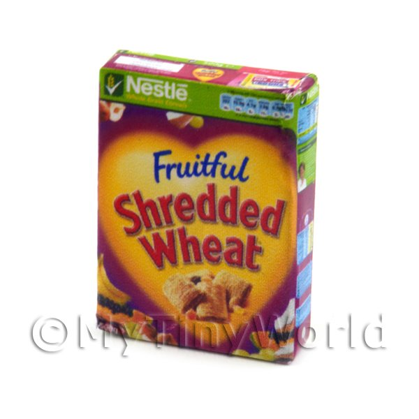 1/12 Scale Dolls House Miniatures  | Dolls House Miniature Nestle Fruitful Shredded Wheat